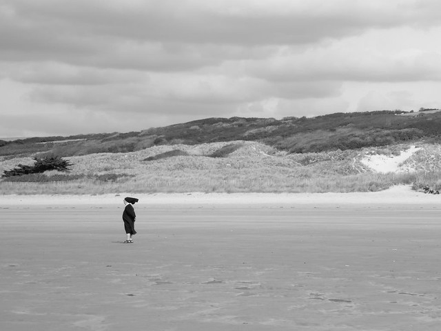 Souffle divin sur la plage..Divine breath on the beach..