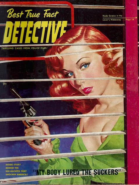 Best True Fact Detective - 1949-09 - Skye Publications - Cover Artist- George Gross