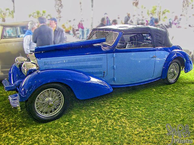 1936 Bugatti Type 57 Stelvio at Amelia Island 2009