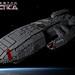 Battlestar Galactica BSG-75 by icgetaway