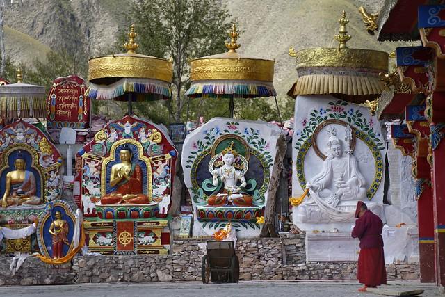 The Gyanak Mani site, Tibet 2018