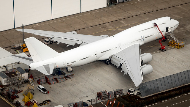 Boeing 747-8JA(BBJ) N458BJ Boeing Business Jets