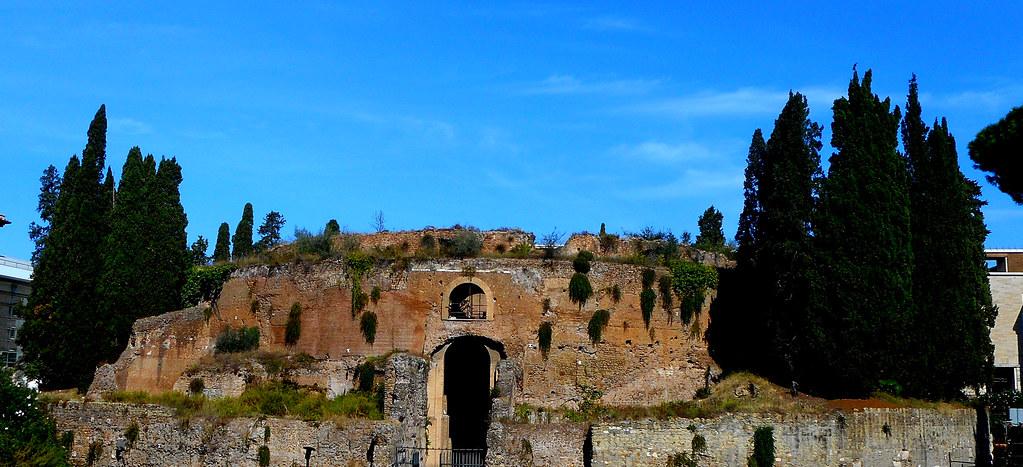 Augustus' Mausoleum (27 BC) in Rome