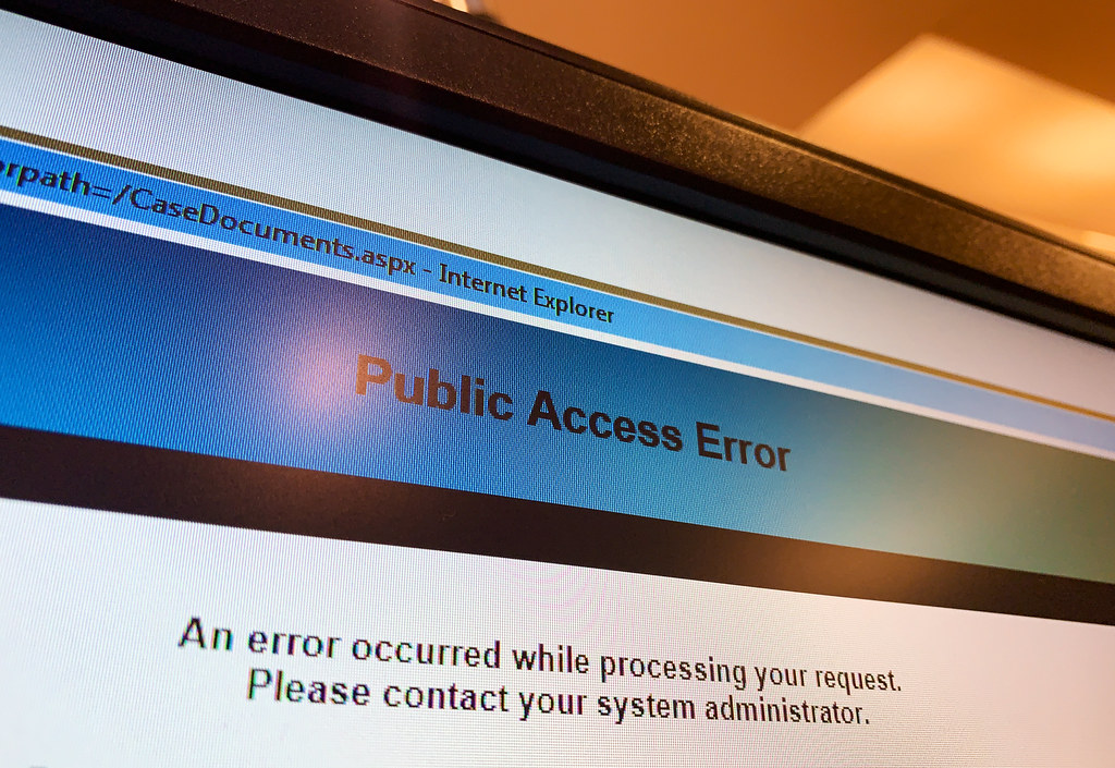 access to public court records mn