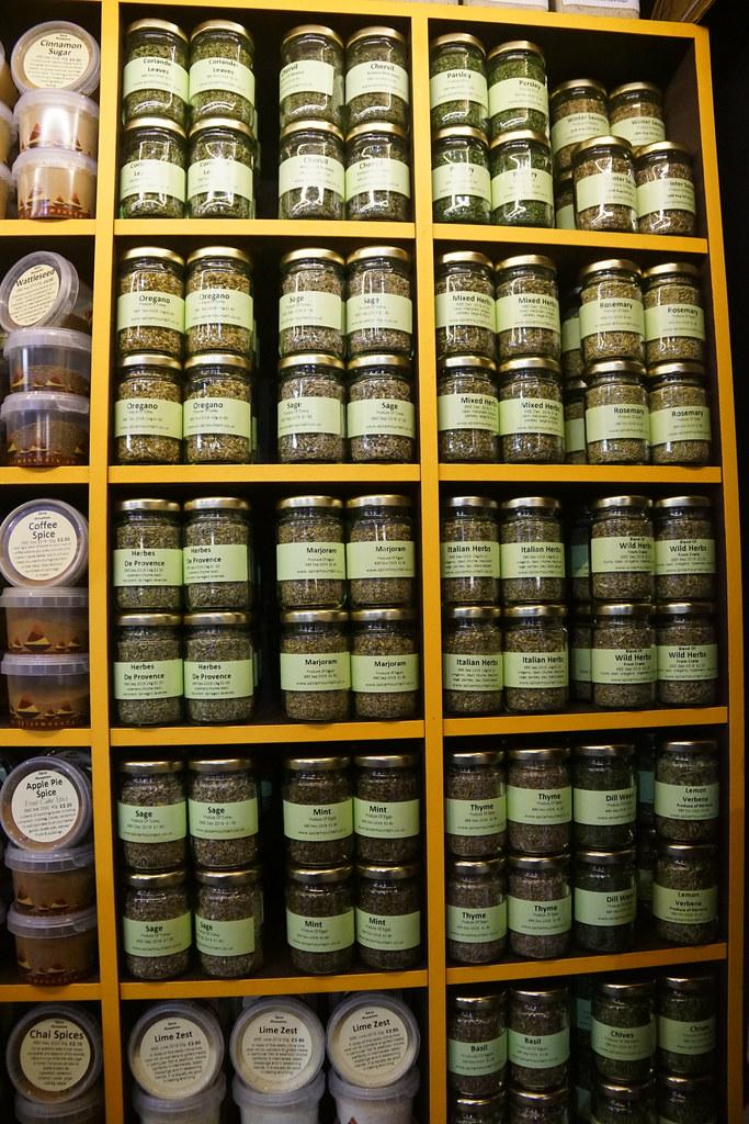 Herbs, Spice Mountain, Borough Market, Borough of Southwar
