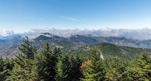 nc northcarolina mountains mountain clouds fall october
