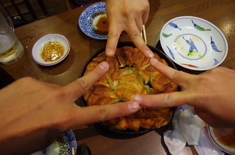 博多鉄鍋餃子なかよし メニュー