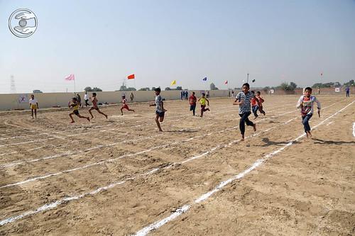 Race by kids