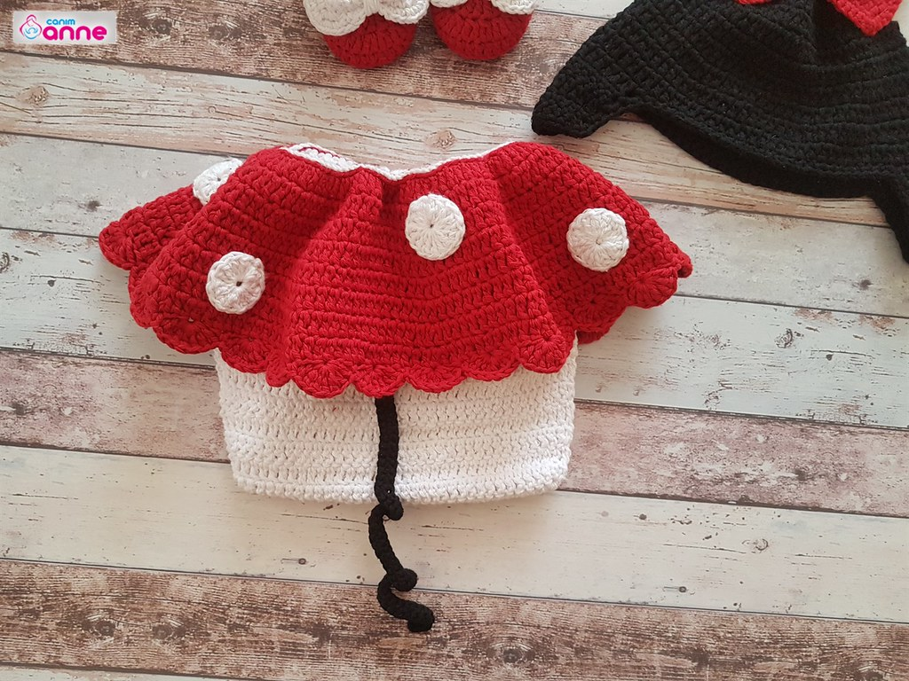 Amigurumi mor bebek elbisesi Yapımı -3# crochet tutorial - How To ... | 768x1024