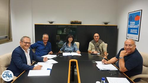 La giuria si riunisce | by CNA Arezzo