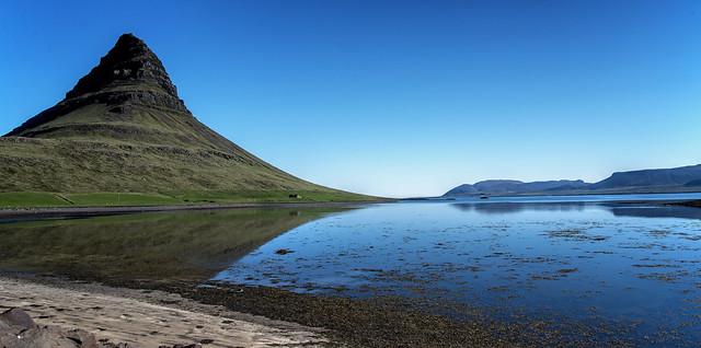 Mount Kirkjufell - Church Mountain - mid morning