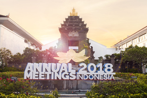 Welcome to the Annual Meetings 2018 Indonesia | by World Bank Photo Collection