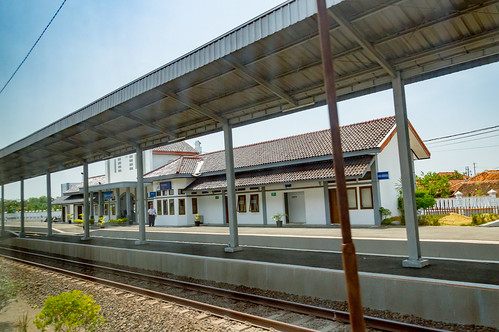 stasiun station dutch heritage railway indonesia train keretaapi rel architecture building jawatengah centraljava tanjung brebes
