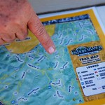 Wendy Sell - Los Flores trail map