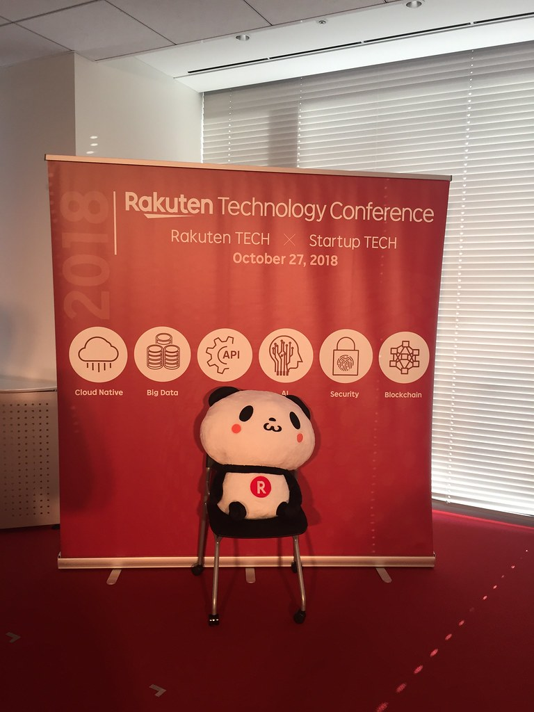 Rakuten technology conference at Rakuten crimson house, futago tamagawa