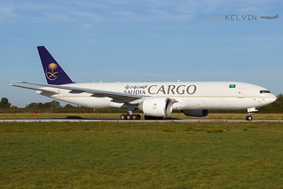 Boeing 777(F) - Saudia Airlines Cargo - HZ-AK71   by Kelvin Jahae