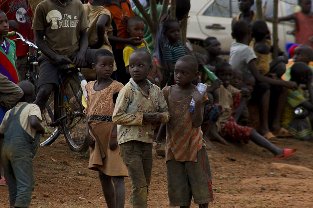 Kids in Rwanda Mountain Gorilla Rally