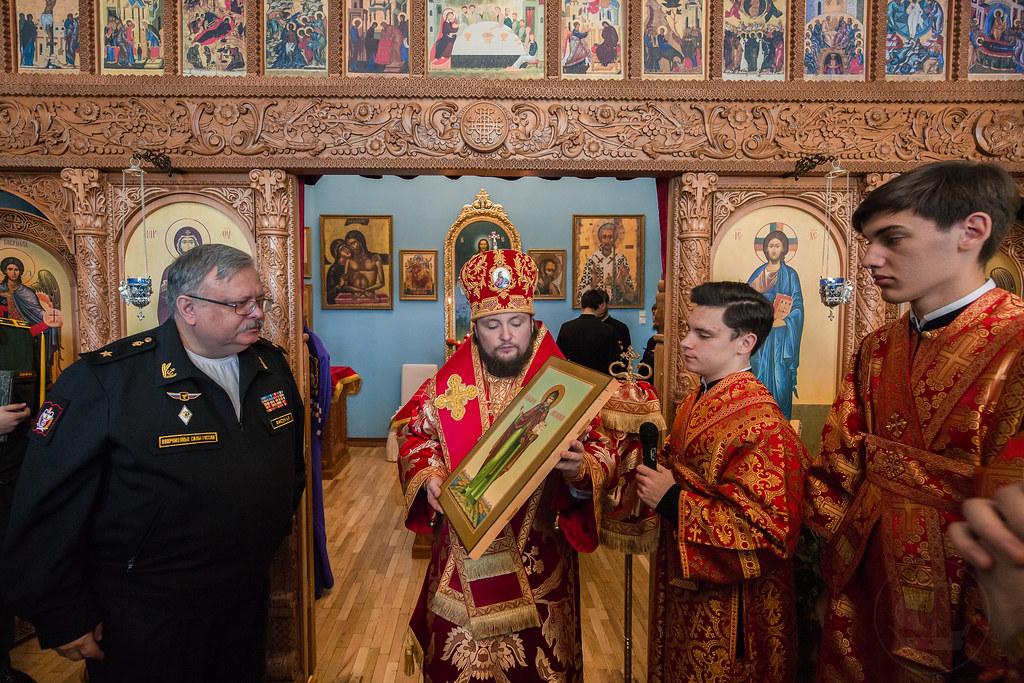 6 октября 2018, Литургия в Военно-медицинской Академии.  / 6 October 2018, Liturgy in the S.M. Kirov Military Medical Academy.