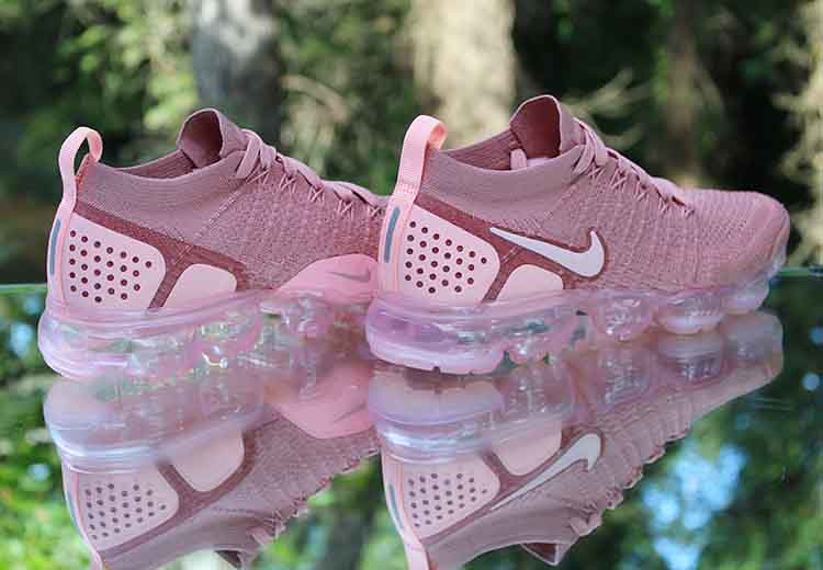 new concept 131ee db3ff ... Nike Air VaporMax Flyknit 2 Rust Pink 942843-600 Women s Size 8.5   by  reddealsonline