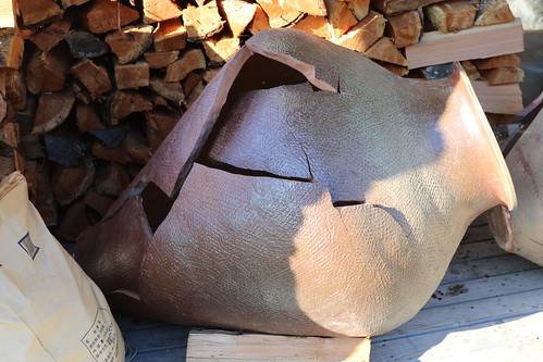 japan hokkaido shari pottery shard broken pot