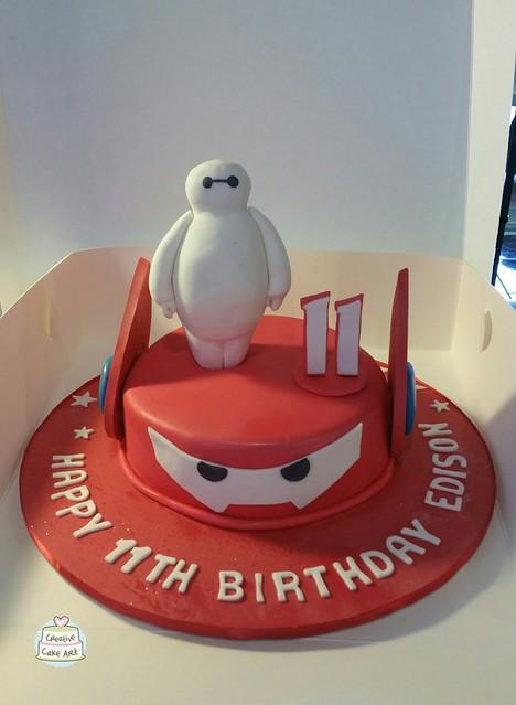 Hero 6 cake 23050