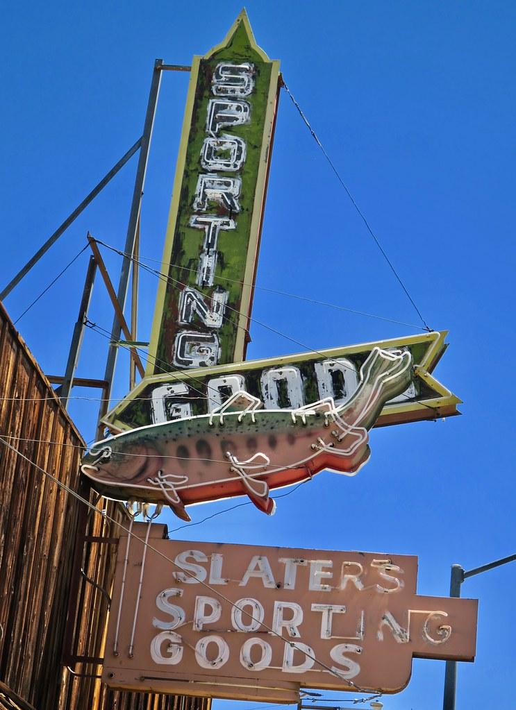 Slater's Sporting Goods, Lone Pine, CA