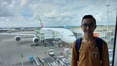 Emirates Airlines Airbus A380-800 with me!