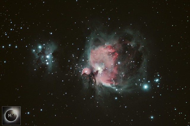 Orion's Sword & M42 the Orion Nebula 07/12/18