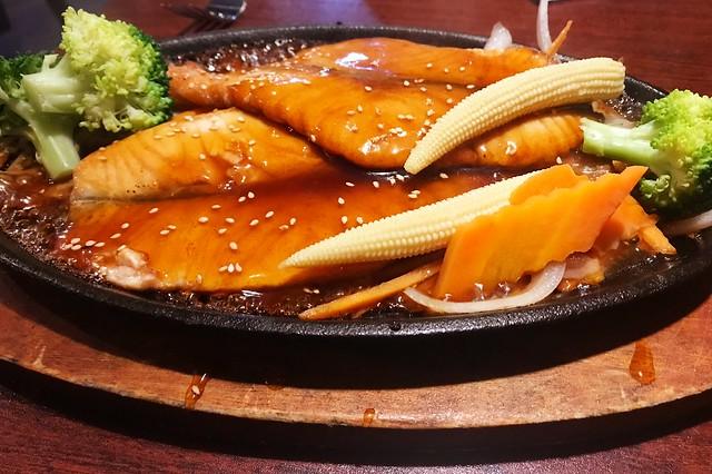 289:365 Salmon teriyaki