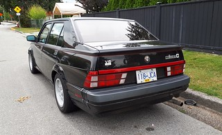 innovative design 9a357 5315f 1989 Alfa Romeo Milano 3.0 V6 Verde | Foden Alpha | Flickr