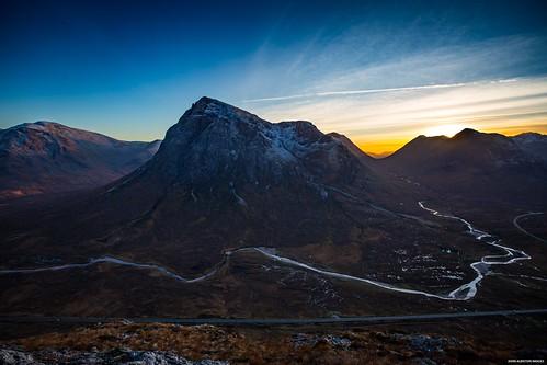 buchailleetivemor bigherdsmanofetive glencoe glenetive rannochmoor mountain scotland highlands sunset gloaming twilight dusk camping wild tent vango hurricanealpha beinnachrulaiste stobachrulaiste