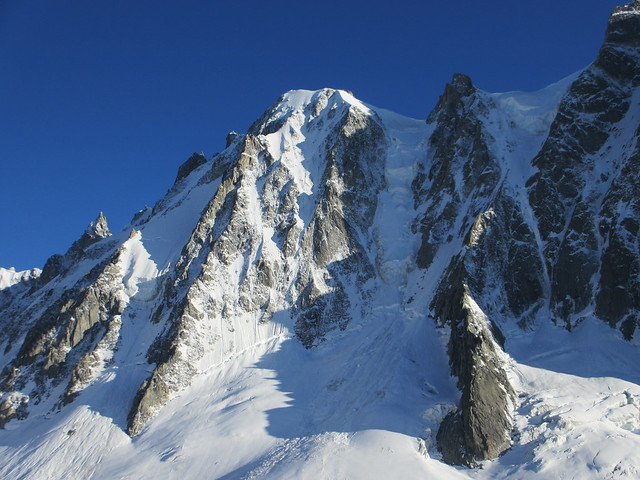 Mont Blanc, C4 Masterclass couloirs