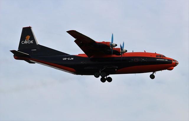 UR-CJN Antonov An-12B CAVOK Air