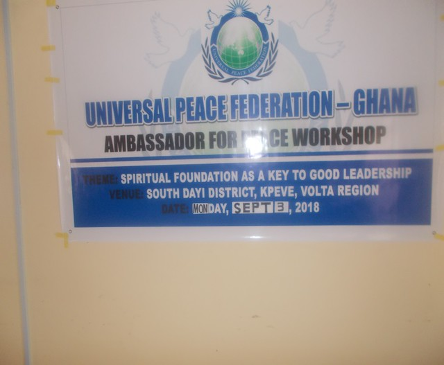 Ghana-2018-09-03-UPF-Ghana Conducts Peace Education Program in Volta Region