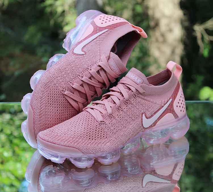 2239b693134 ... Nike Air VaporMax Flyknit 2 Rust Pink 942843-600 Women s Size 8.5