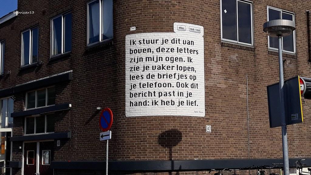 Sms Gedicht Ingmar Heytze Heycopstraat Utrecht Het Sms G