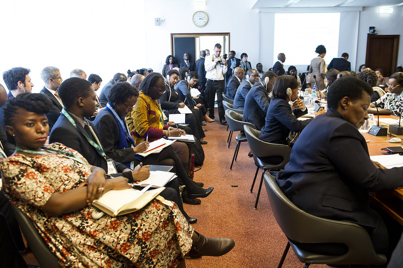Ministerial roundtable; the African, Caribbean and Pacific Group of States
