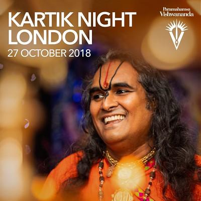Kartik Night London 2018 – Paramahamsa Vishwananda