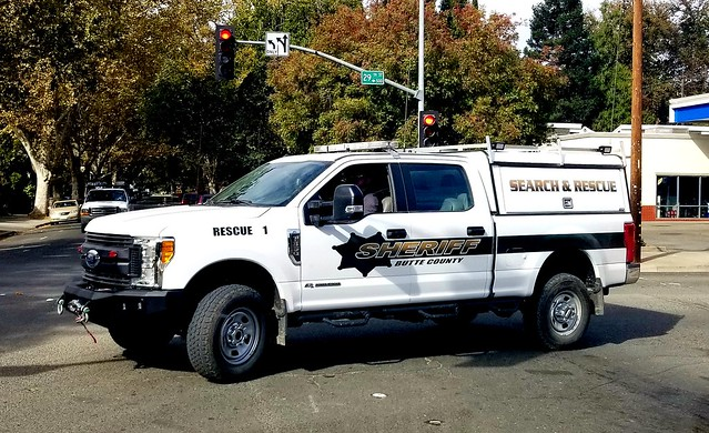 Butte County Sheriff Ford Super Duty Search and Rescue