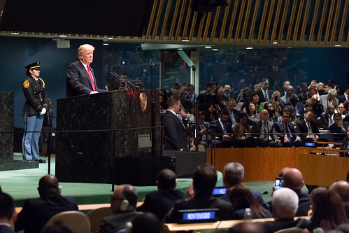 President Donald J. Trump at the United Nations General Assembly   by The White House