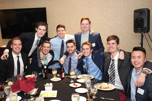 Another table of nameless undergrads