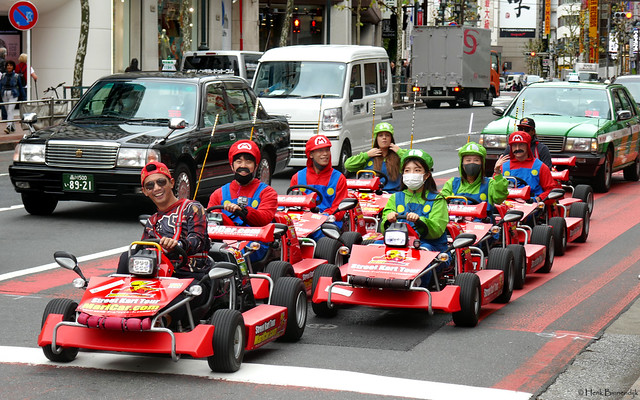Japan: Tokyo, unusual traffic