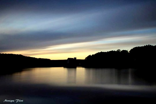 sunset cloudsstormssunrisessunsets clouds longexposure nature landscape water lake sky blue scenery massachusetts