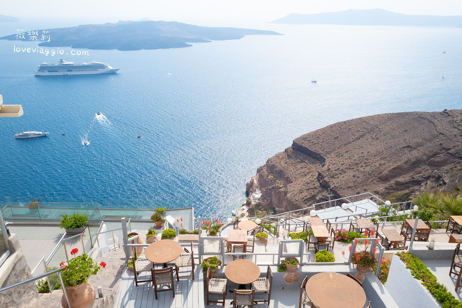 【希臘聖托里尼 Santorini】費拉Fira慢步 夢想中的藍與白 @薇樂莉 Love Viaggio | 旅行.生活.攝影