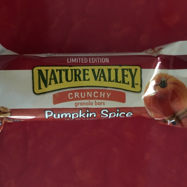 289/365: Pumpkin Spice Nature Valley Bar