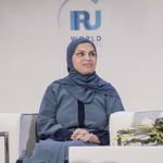 HE Lujaina Mohsin Darwish during the plenary session 1 at IRU World Congress