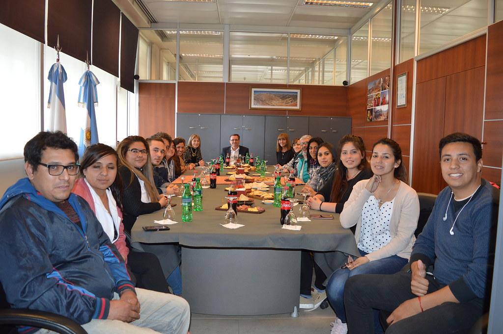 Visita de estudiantes de Valle Fértil
