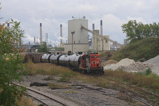 CN IOX working Point Edward Spur | by tcamp7837