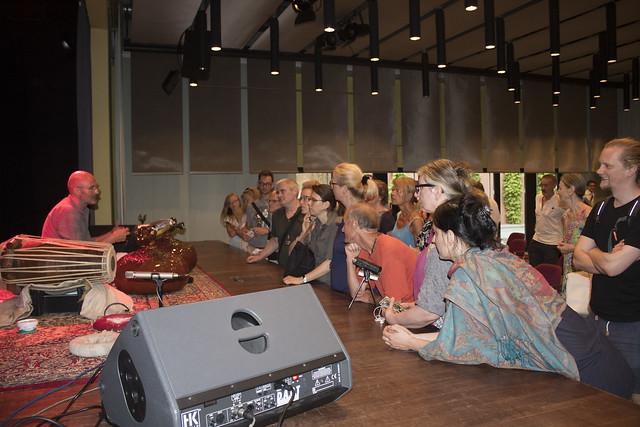 Rudra Veena concert at the Indian Embassy Berlin 2018