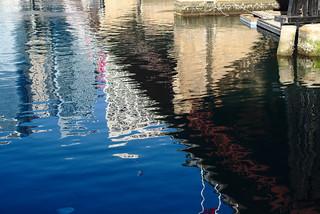 Pyrmont Bridge, reflected | by aenigmatēs